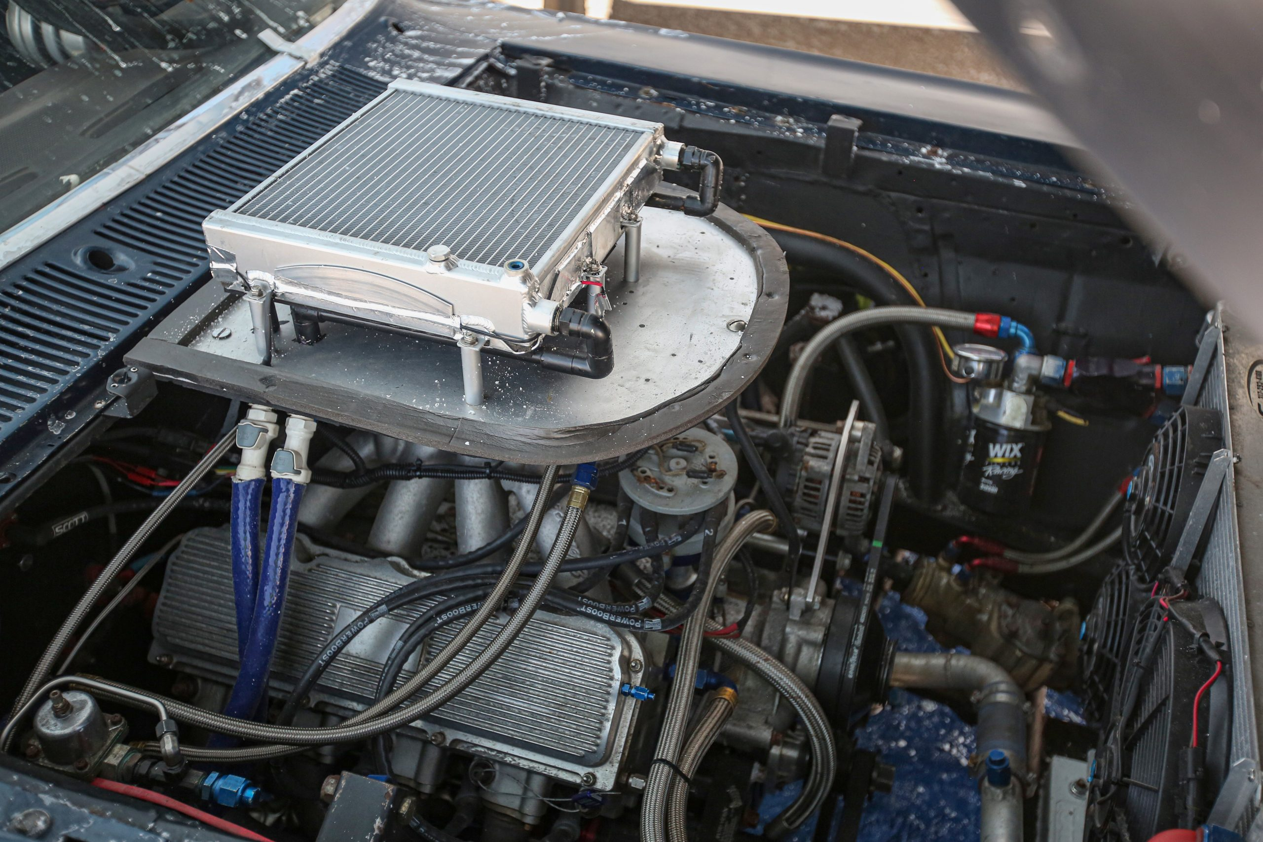 Bonneville Torino Talladega Engine Bay