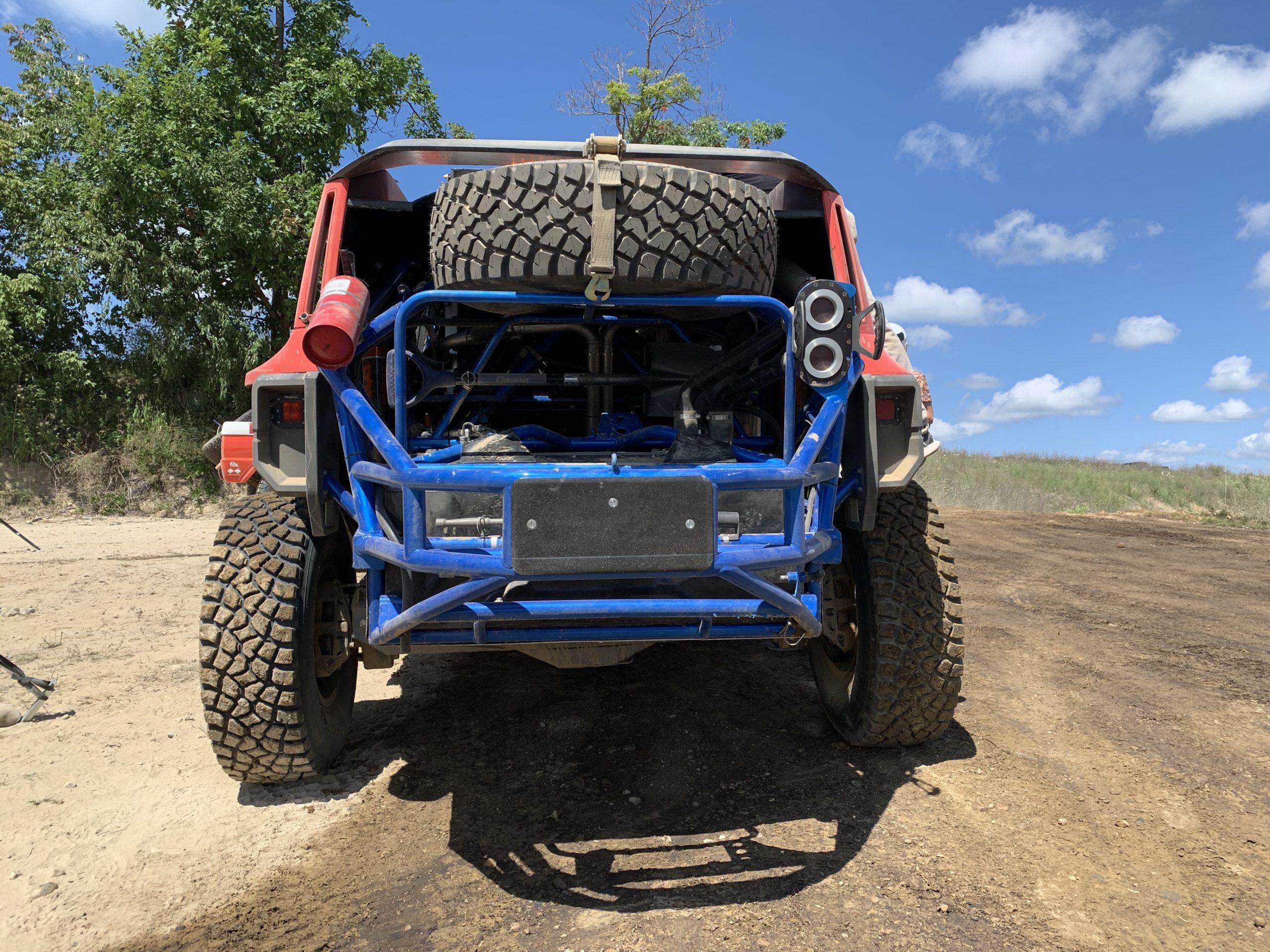 Bronco r rear spare tire