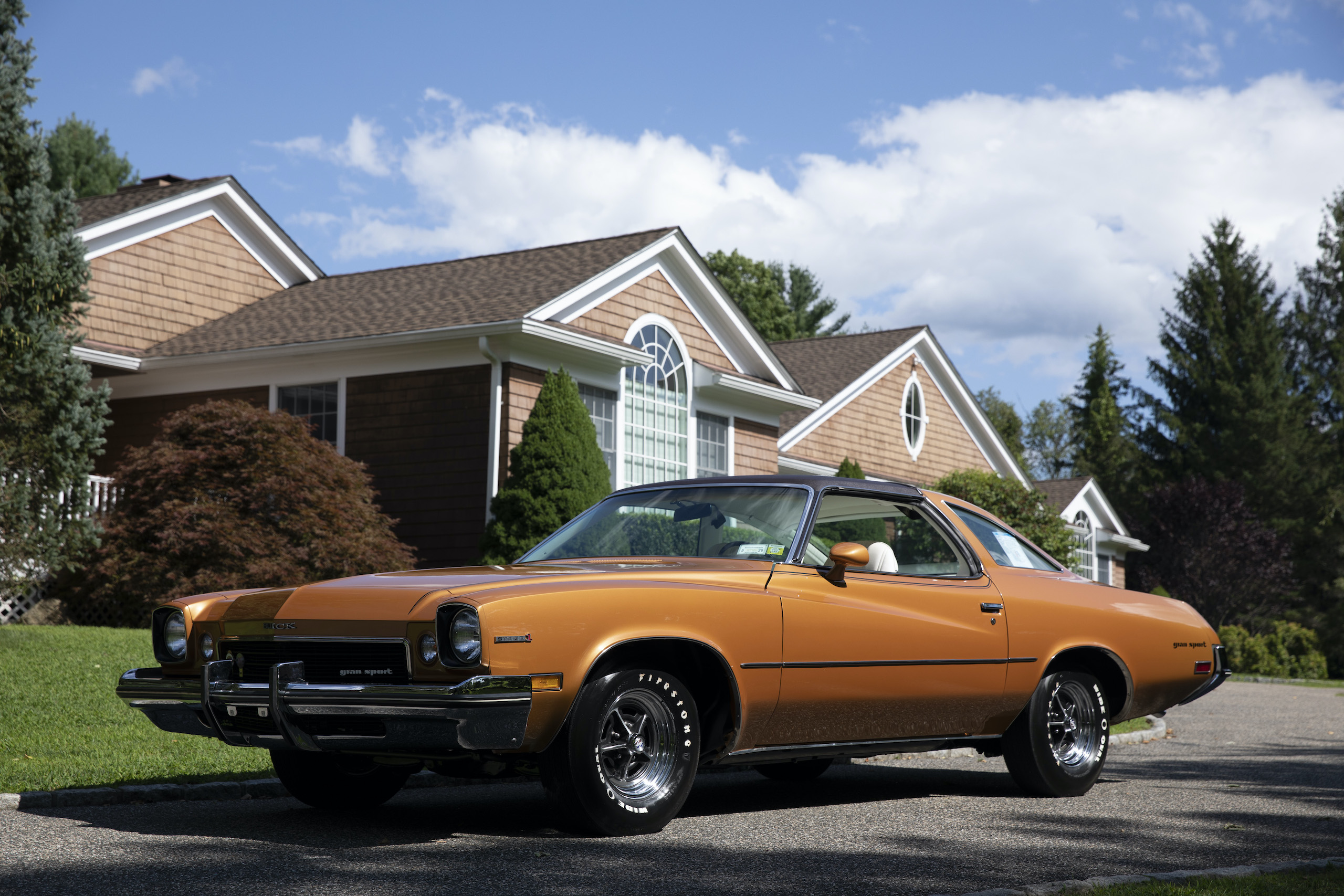 1973 Buick GS Stage 1 gran sport coupe front three-quarter