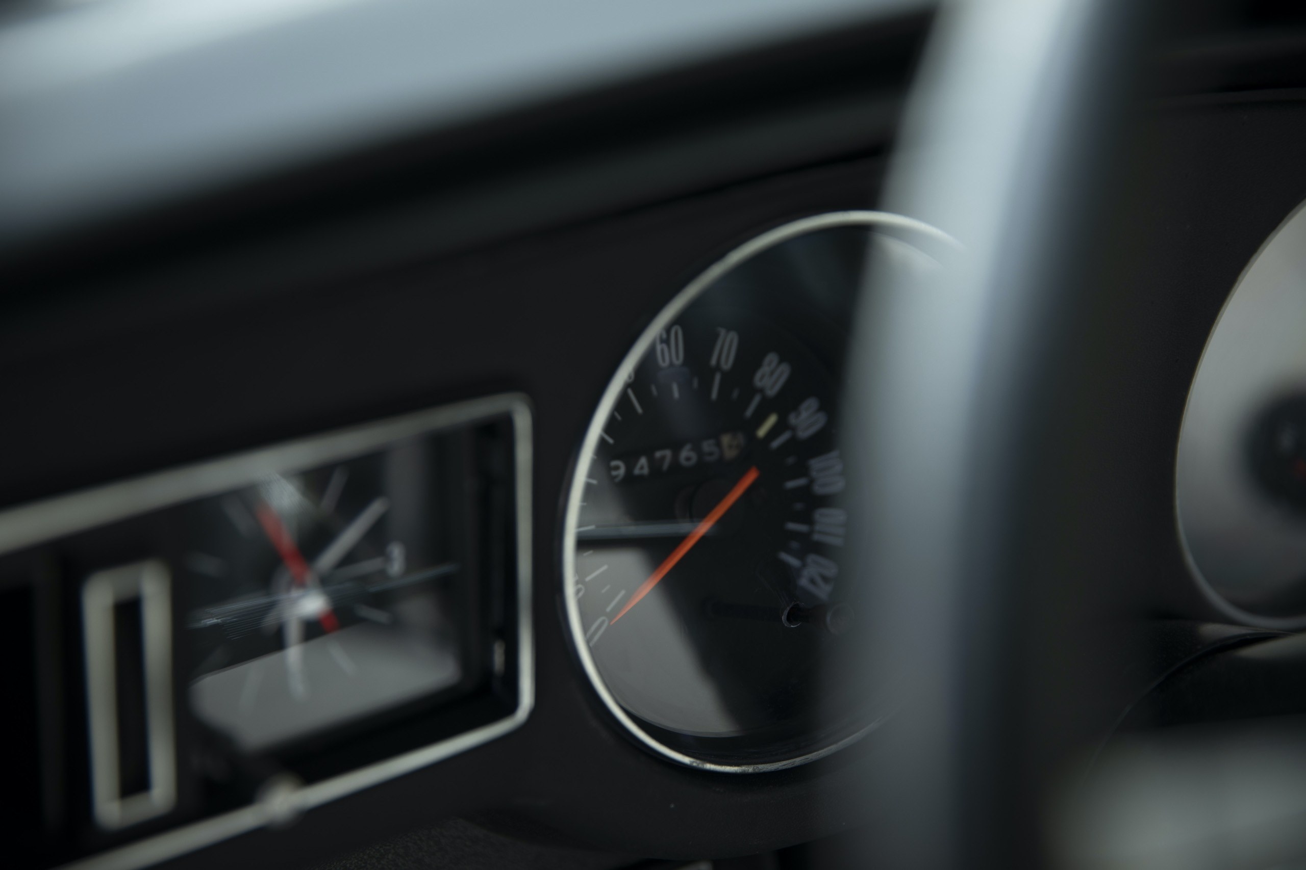1973 Buick GS Stage 1 gran sport coupe speedometer