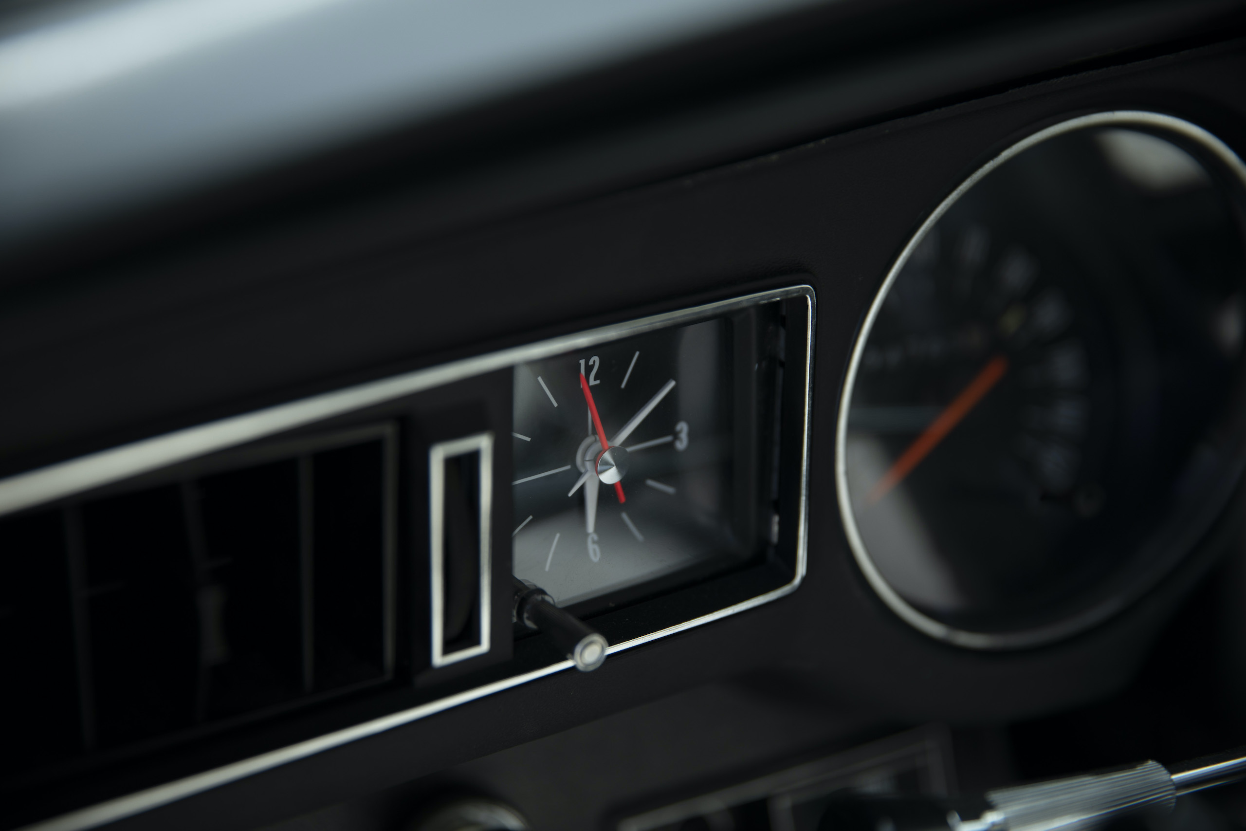 1973 Buick GS Stage 1 gran sport coupe clock