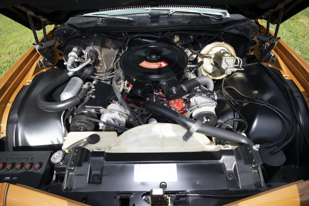 1973 Buick GS Stage 1 gran sport coupe engine