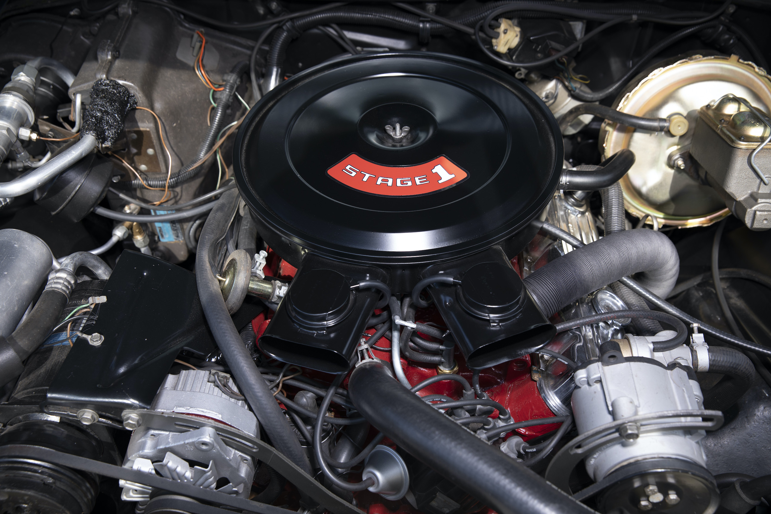 1973 Buick GS Stage 1 gran sport coupe engine front