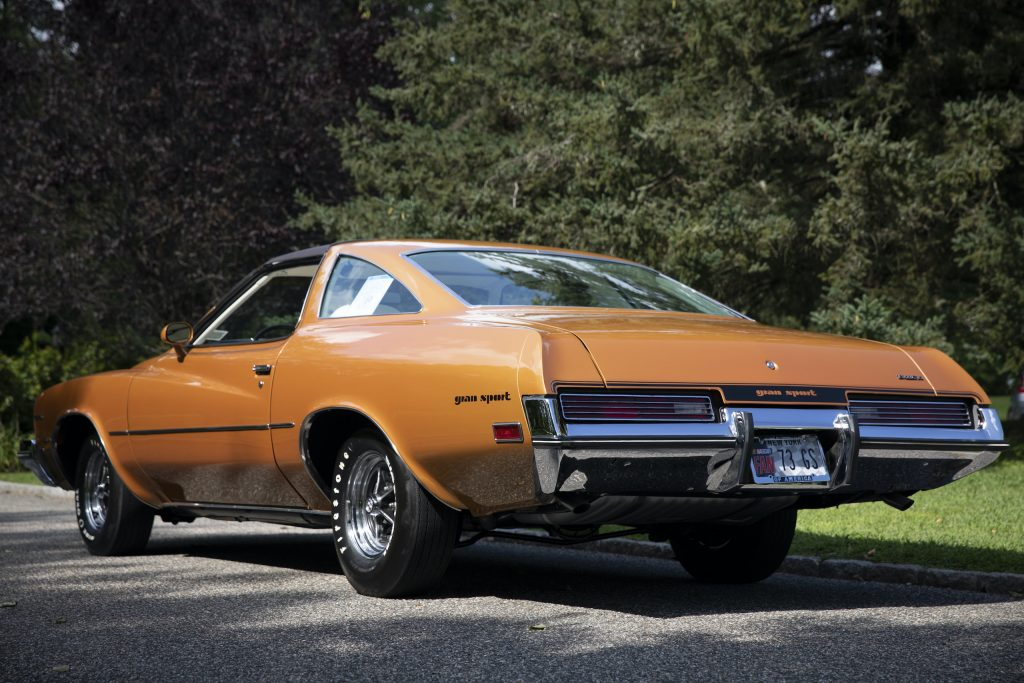 1973 Buick GS Stage 1 gran sport coupe rear three-quarter