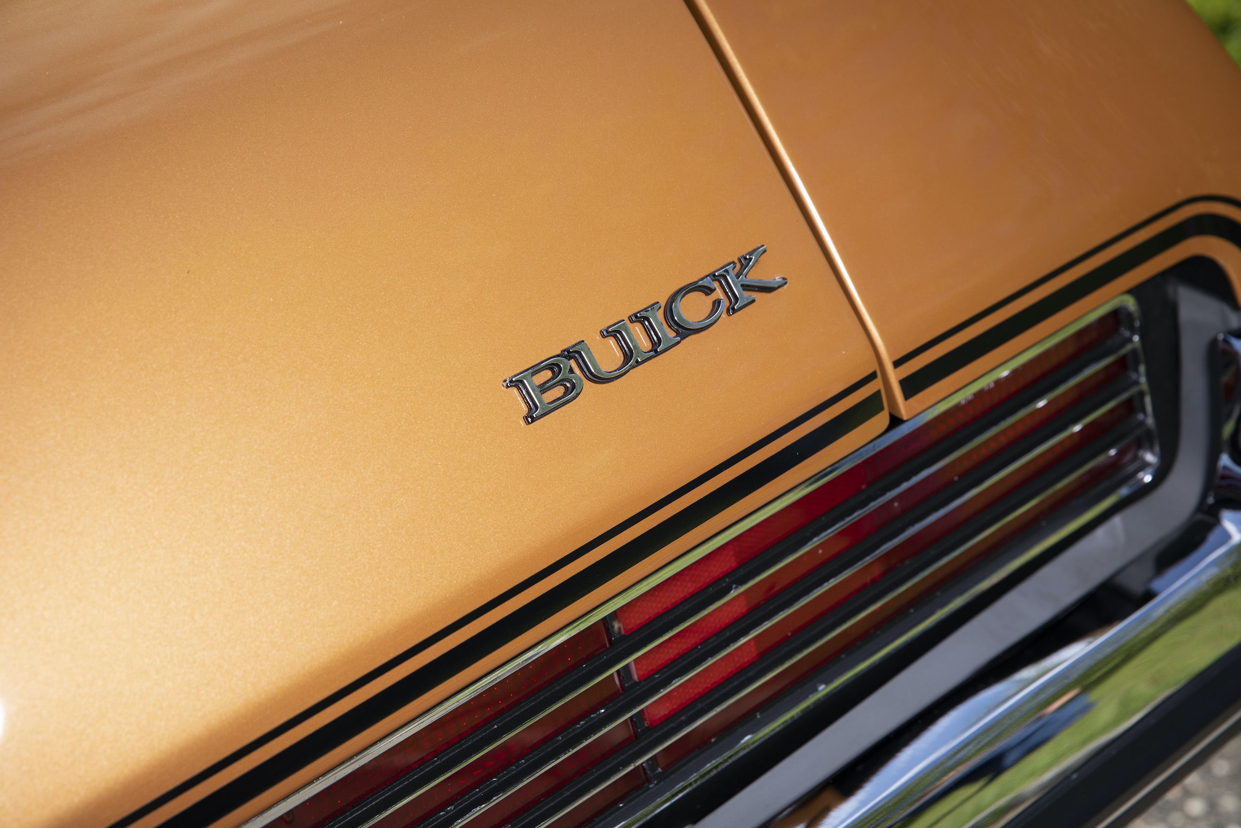 1973 Buick GS Stage 1 gran sport coupe buick badge