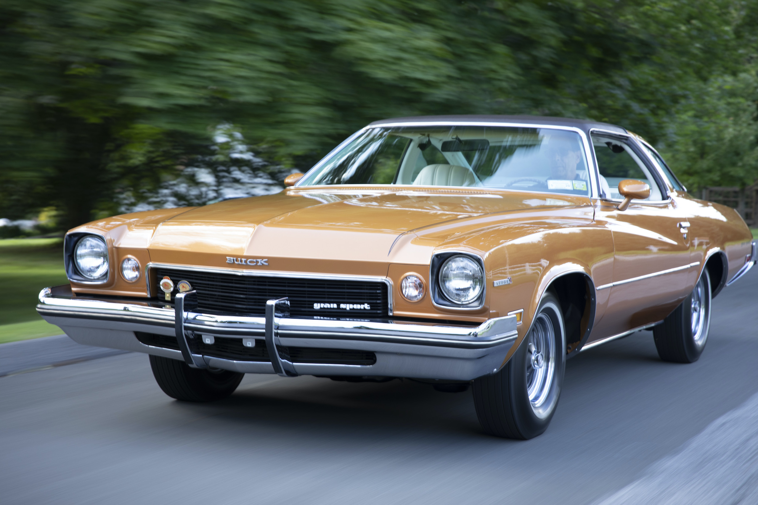 The 1973 Buick GS Stage 1 four-speed is a rare, forgotten muscle machine