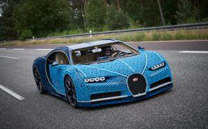 Life-size, drivable LEGO Bugatti Chiron