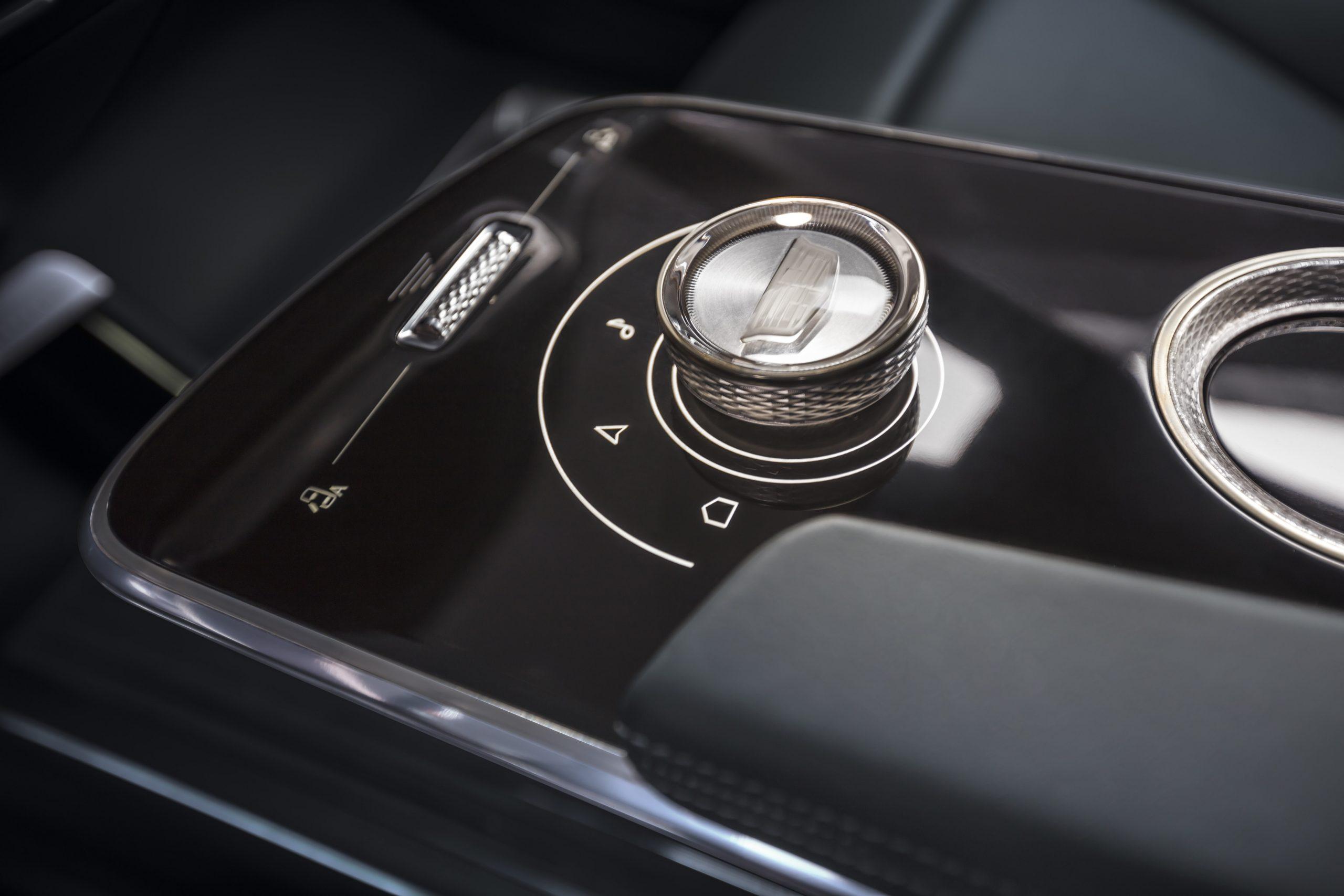 Cadillac LYRIQ's center console