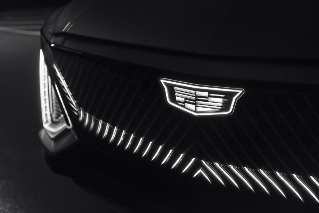 Cadillac LYRIQ grille
