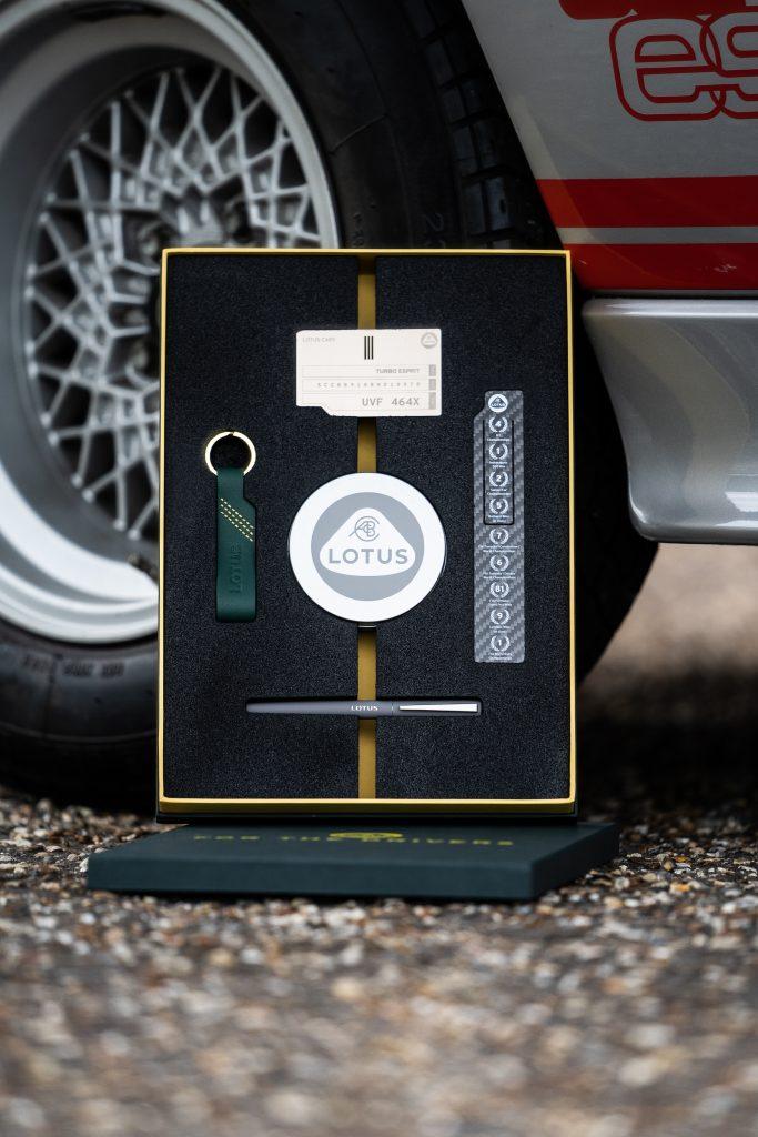 Colin Chapman Lotus Esprit Turbo case