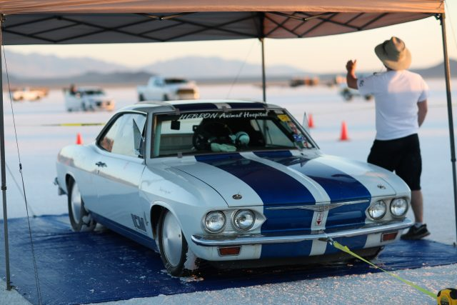 Corvair Impound Bonneville Speed Week