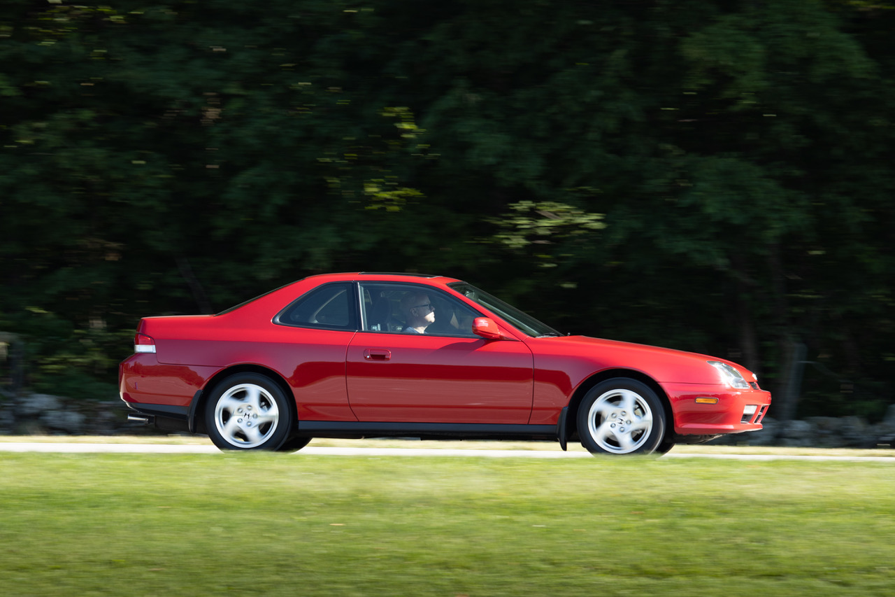 5th gen honda prelude side profile dynamic action