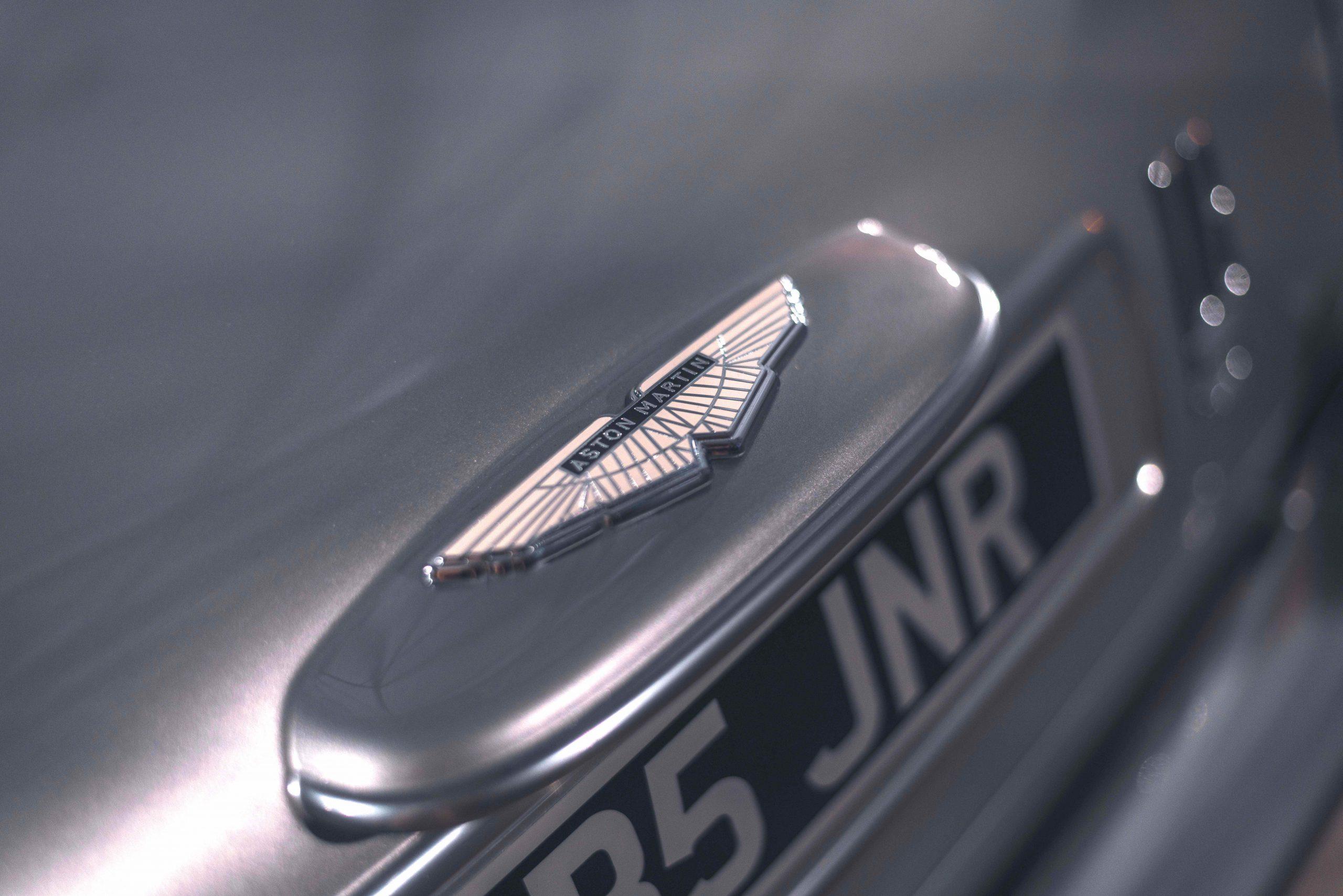 Aston Martin DB5 Junior Hero rear wings badge