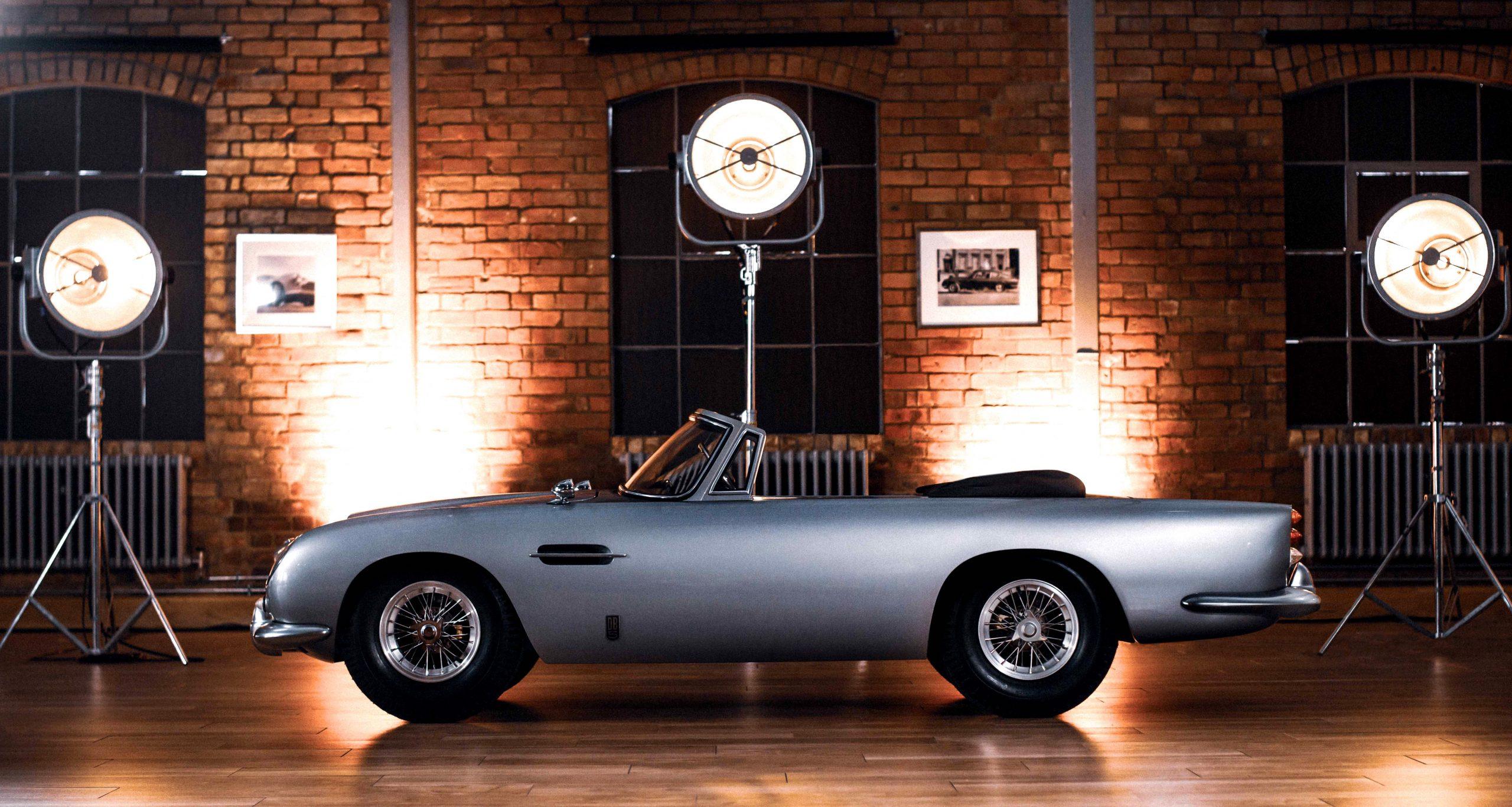 Aston Martin DB5 Junior Hero Side Profile