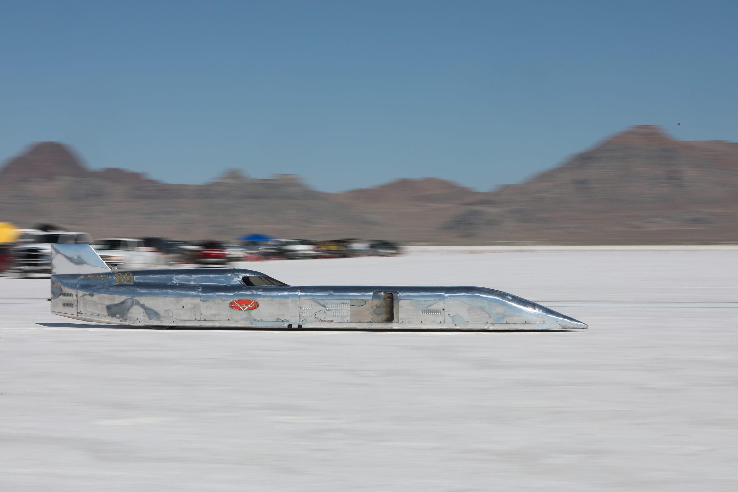 Eddie's Chop Shop Streamliner Speed Week 2020