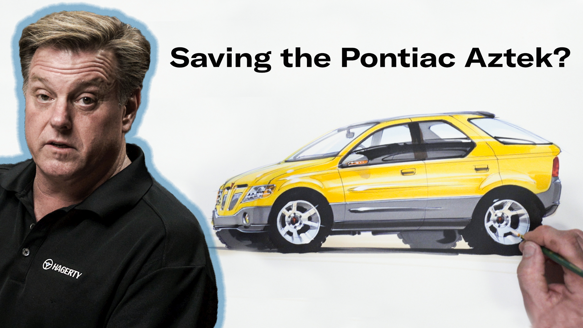 Chip Foose draws an Aztek