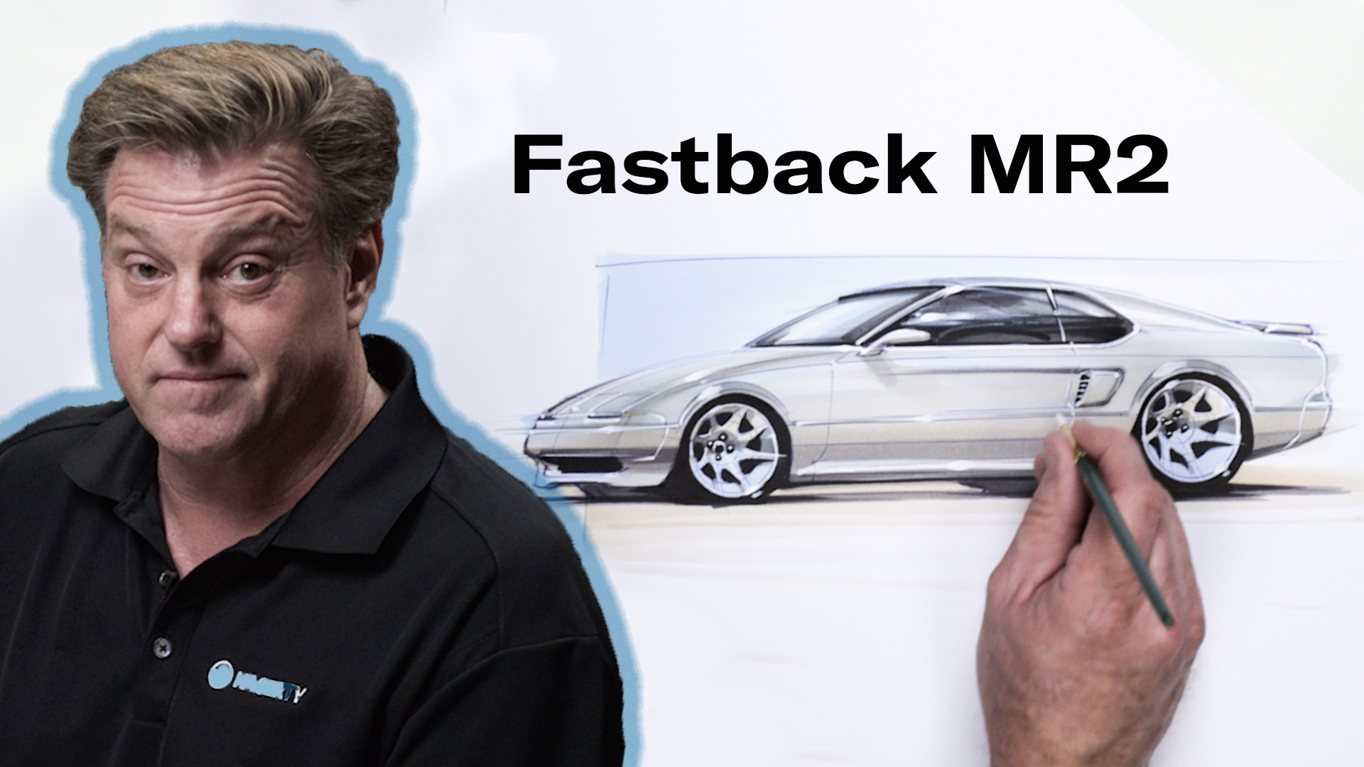 Foose Draws a Toyota MR2