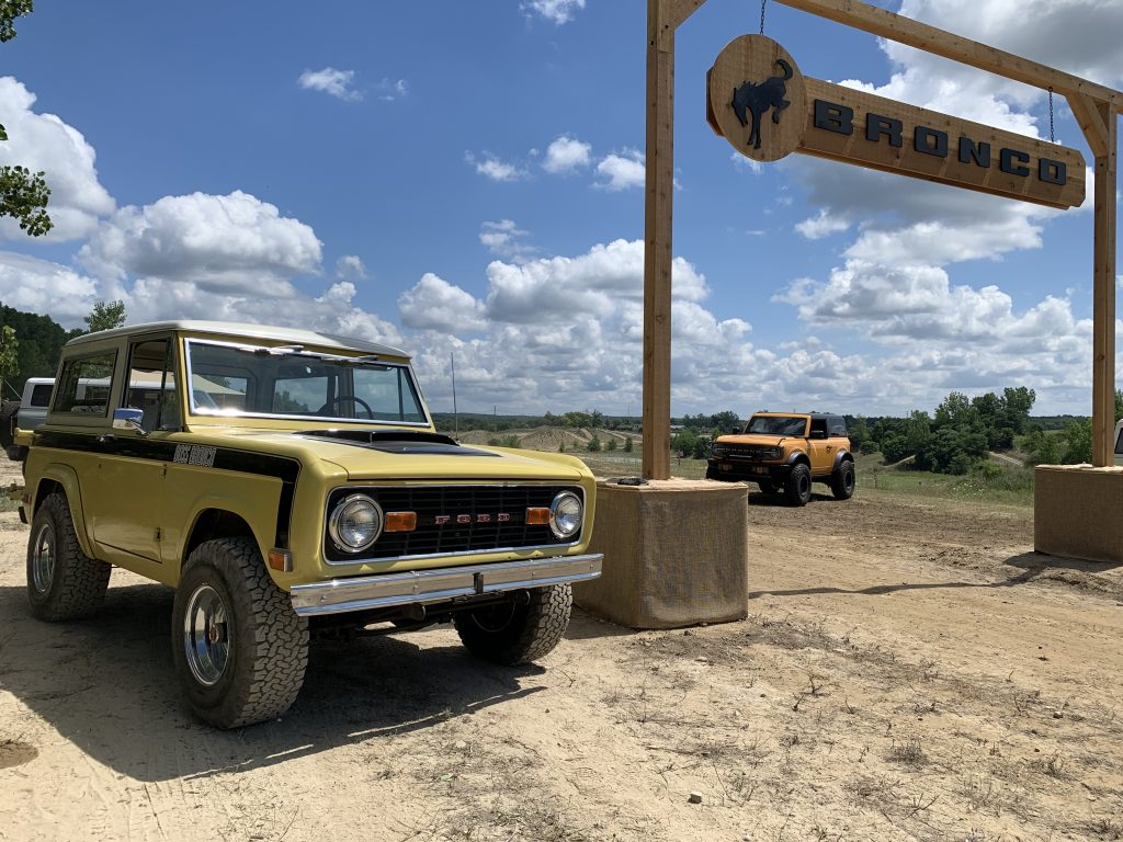 Ford Boss Bronco prototype two door Bronco Holly Michigan