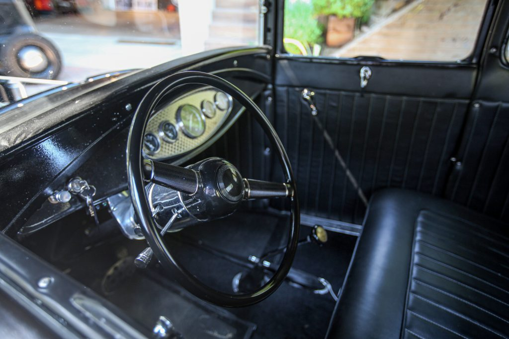 Ford Model A Interior Steering Wheel
