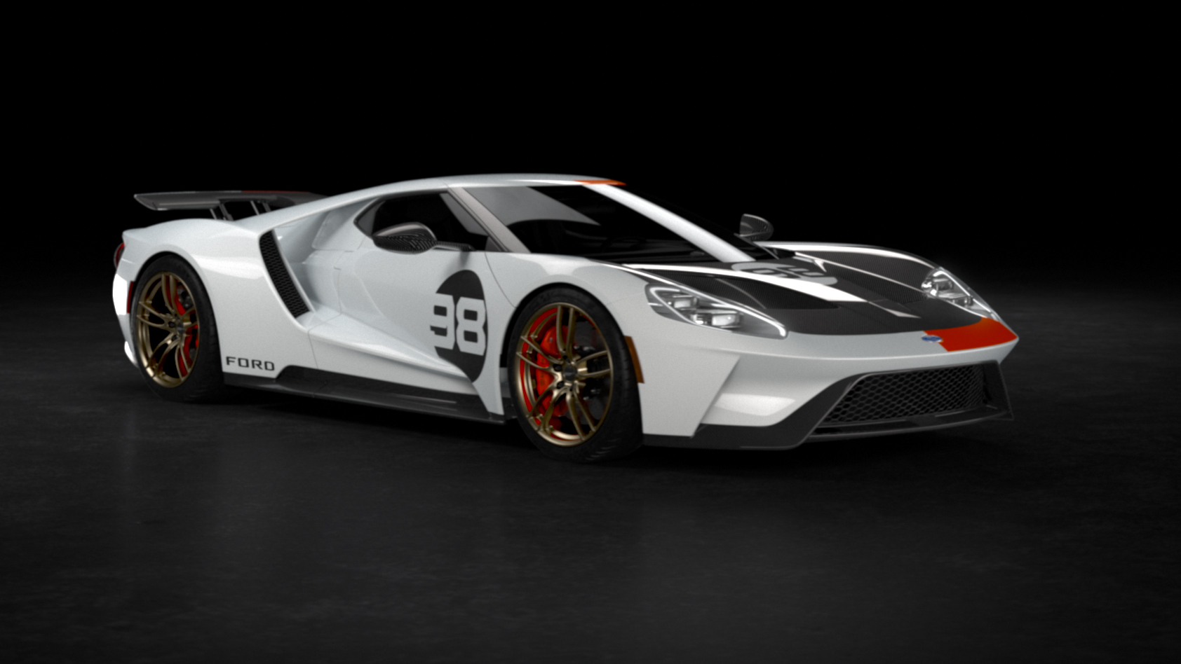 Ford GT Heritage Edition front