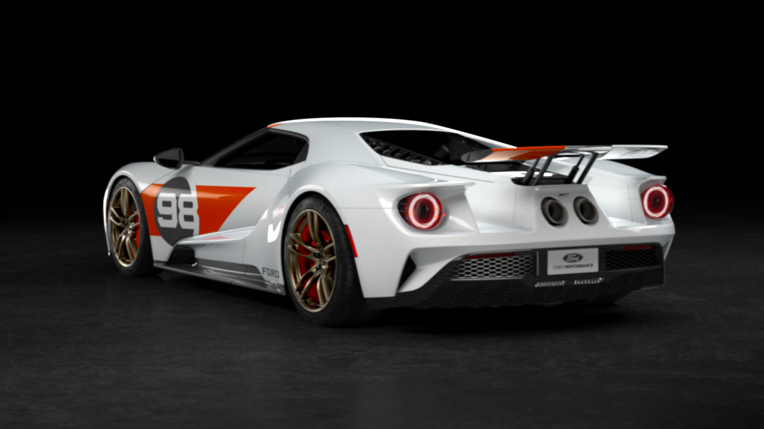 Ford GT Heritage Edition rear