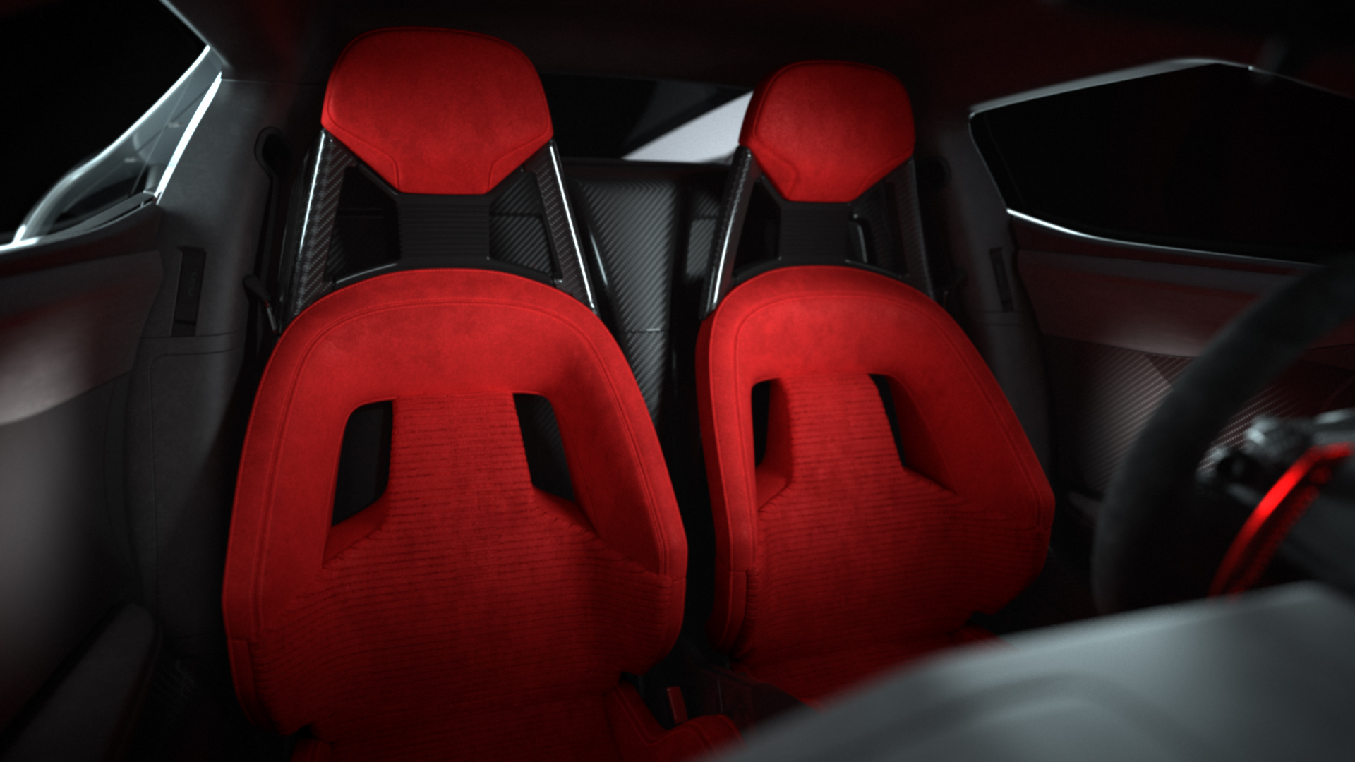 Ford GT Heritage Edition seats