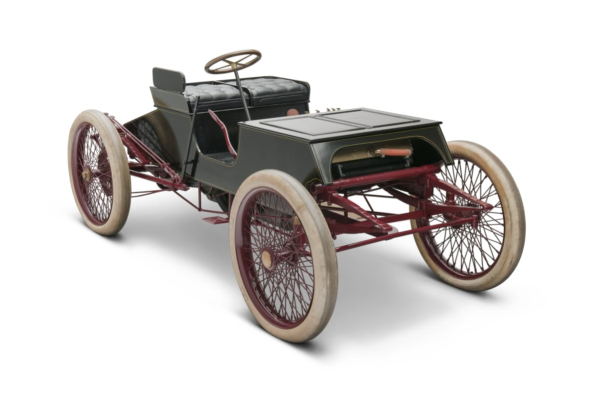 1901 Ford Sweepstakes Race Car front three-quarter