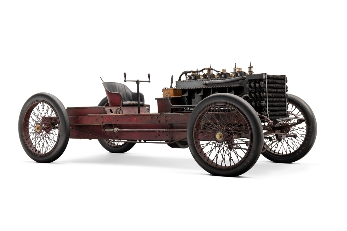 1902 Ford 999 Race Car front three-quarter
