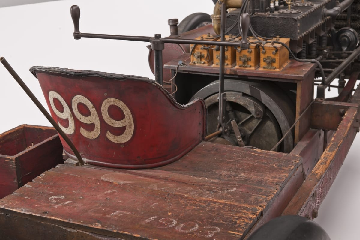 1902 Ford 999 Race Car seat