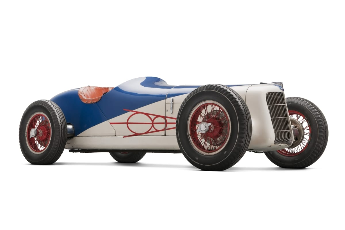 1935 Miller-Ford Race Car front three-quarter