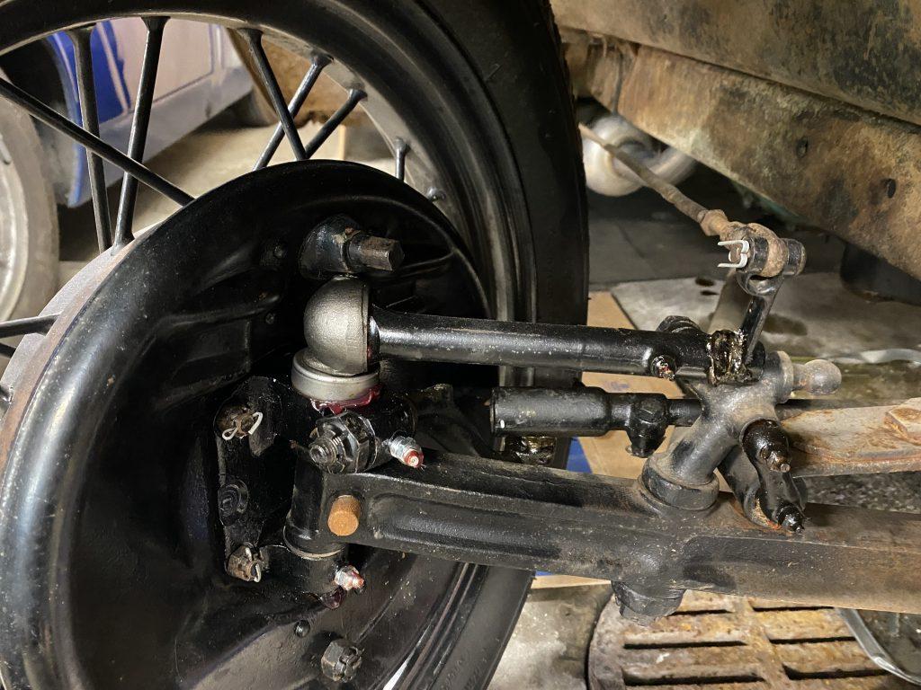 Model A mechanical brakes