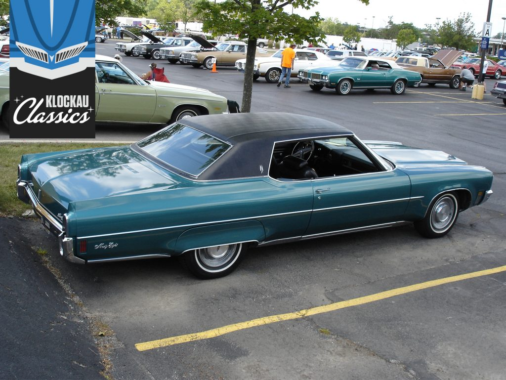 Klockau Classics Oldsmobile ninety-eight rear three quarter