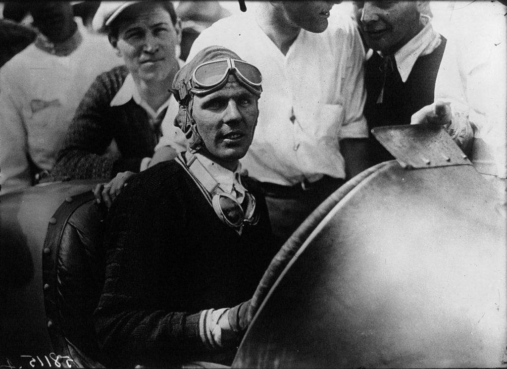 Louis Meyer at 1928 Indianapolis 500