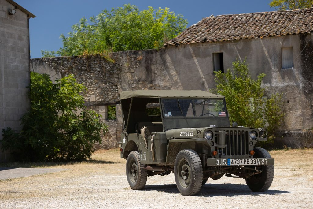 1942 Ford GPW Jeep front three-quarter