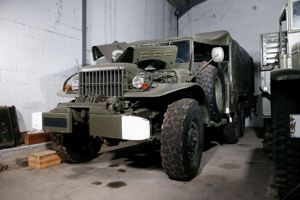 1943 Dodge WC63 6X6 front three-quarter