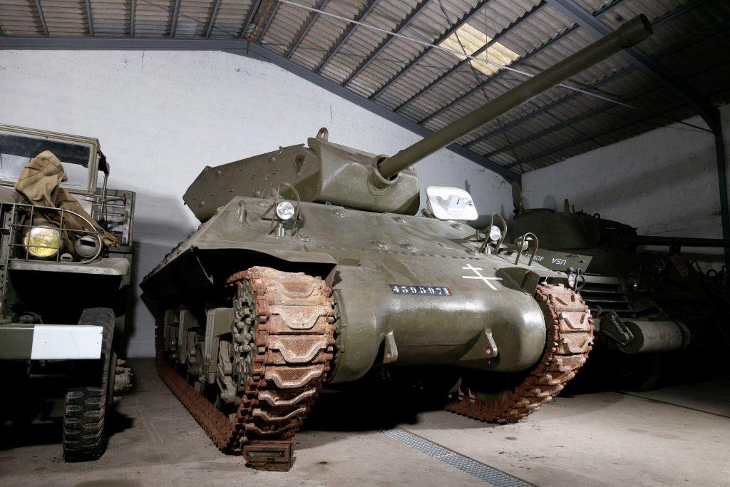 Lurton Auction Destroyer Tank front three-quarter