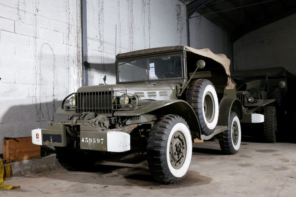 1942 Dodge WC-57 Command Car front three-quarter