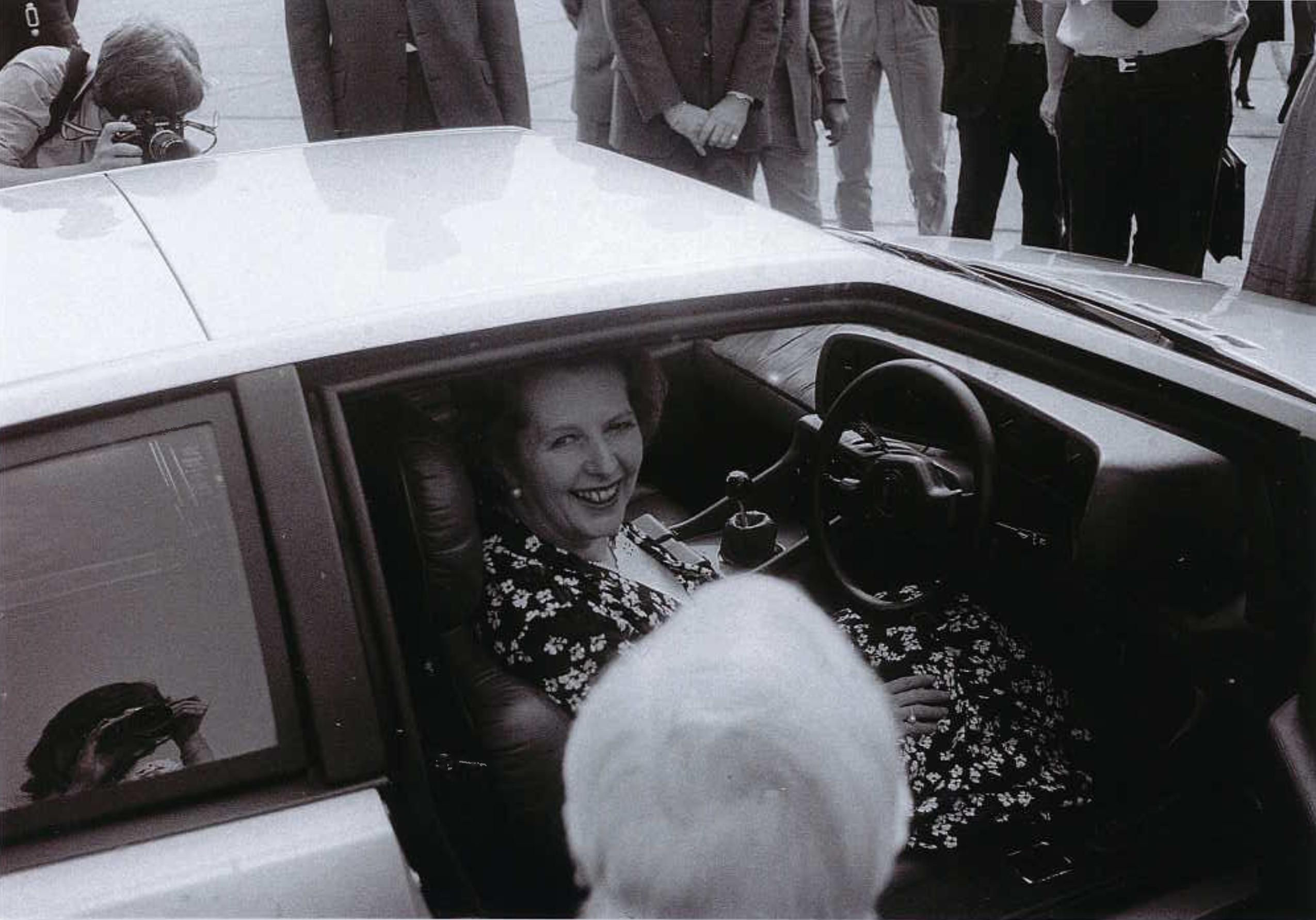 Margaret Thatcher Lotus Turbo Esprit