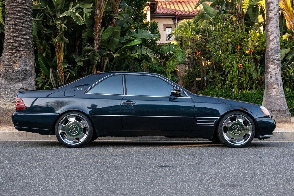 Michael Jordan - 1996 Mercedes S-Class S600 passenger side profile