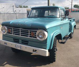 Okotoks Canada Auction - 1966 Dodge Fargo front