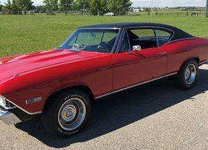 Okotoks Canada Auction - 1968 Chevrolet Chevelle