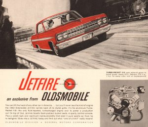 Oldsmobile Jetfire Advertisement