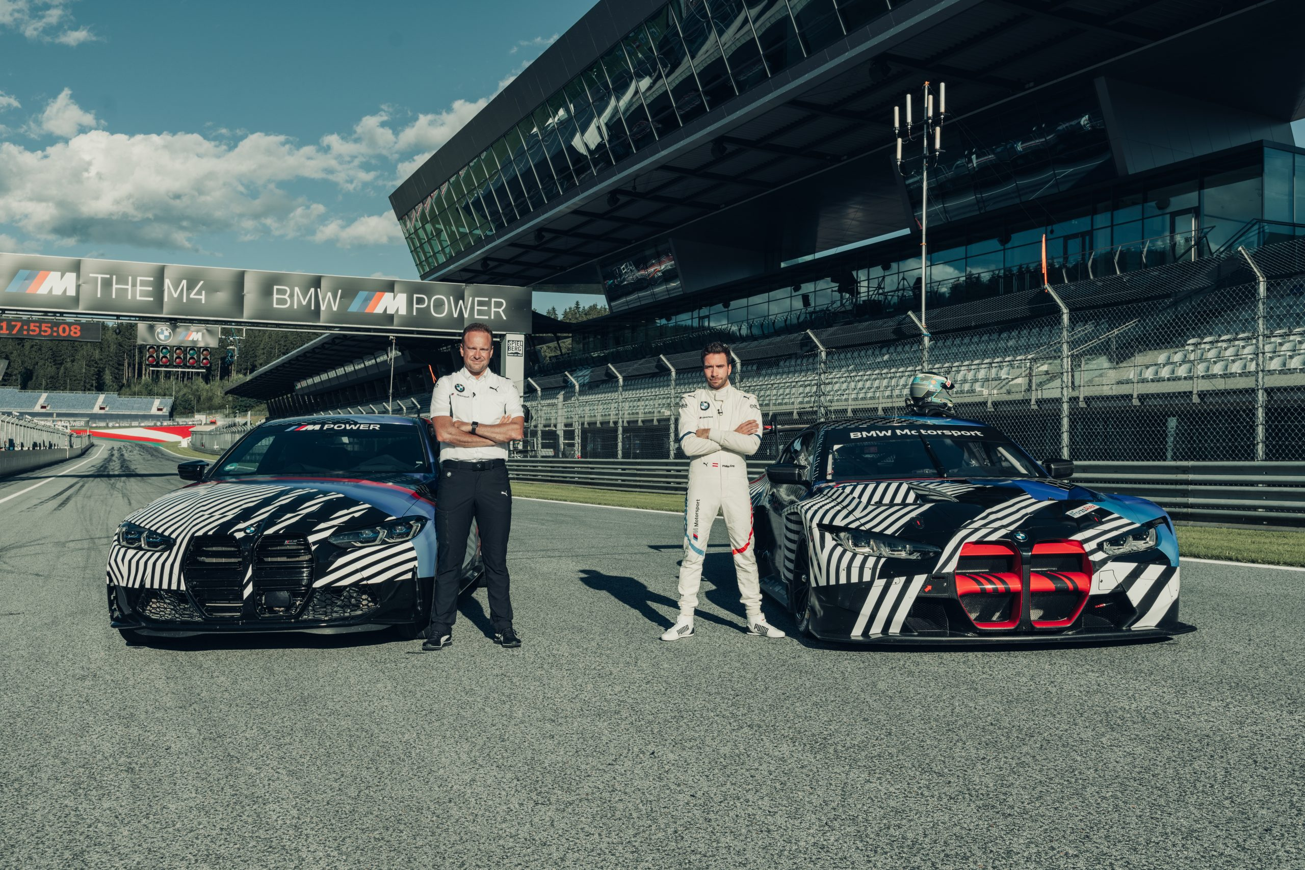 2021 BMW M4 prototype M3 GT3 Red Bull Ring August 2020