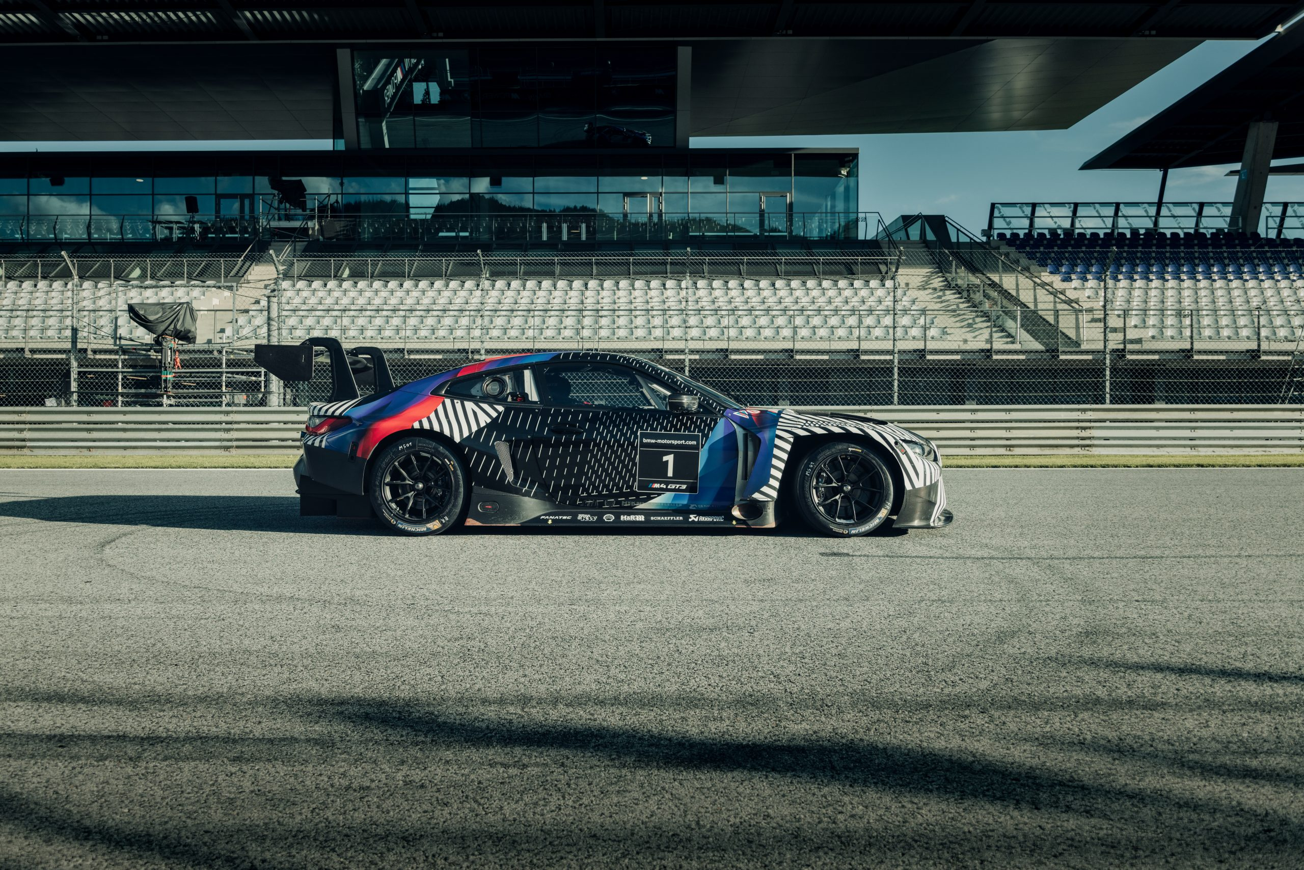2021 BMW M4 GT3 prototype profile Red Bull Ring August 2020