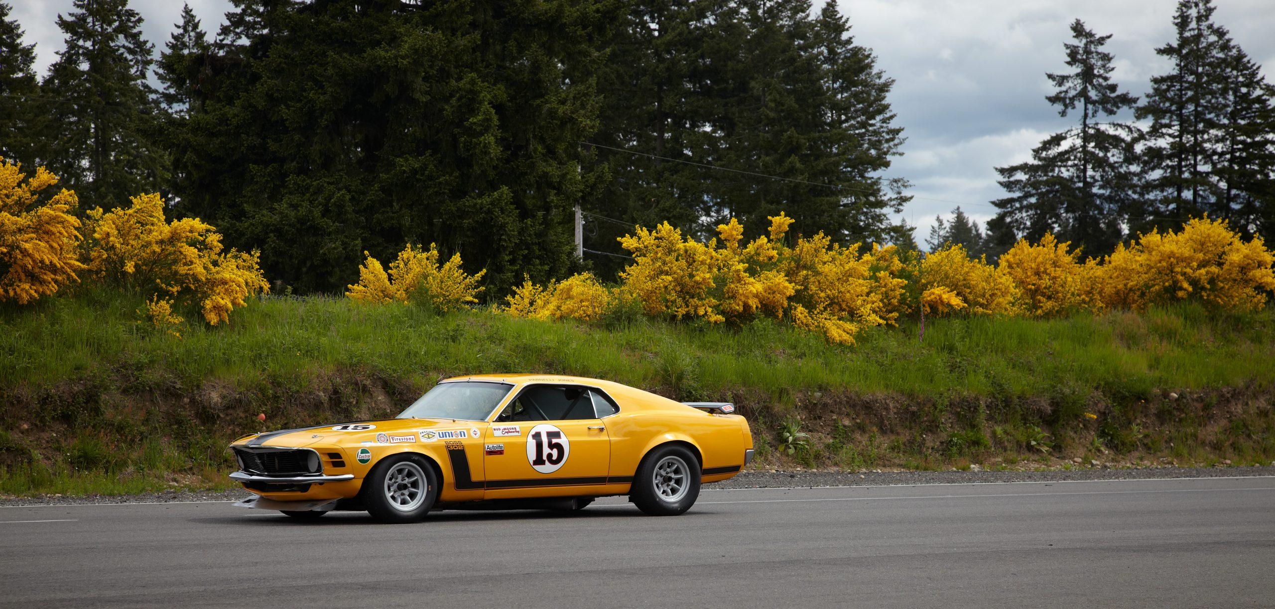 Parnelli Jones Boss 302 Trans Am Championship Mustang
