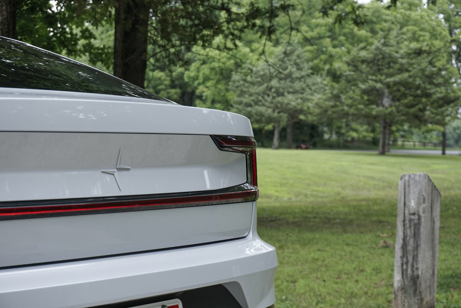 2021 Polestar 2 Launch edition tail light