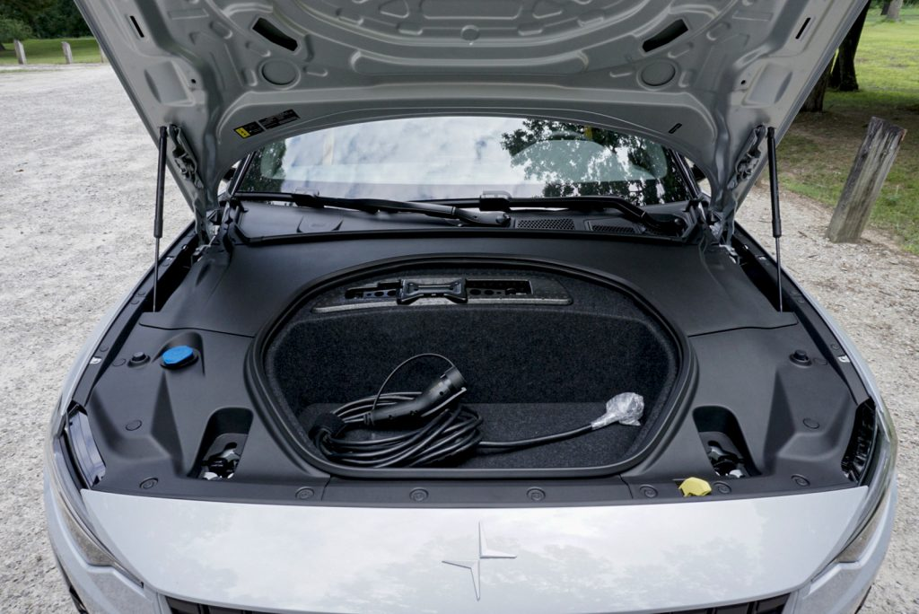 2021 Polestar 2 Launch edition frunk charging cable