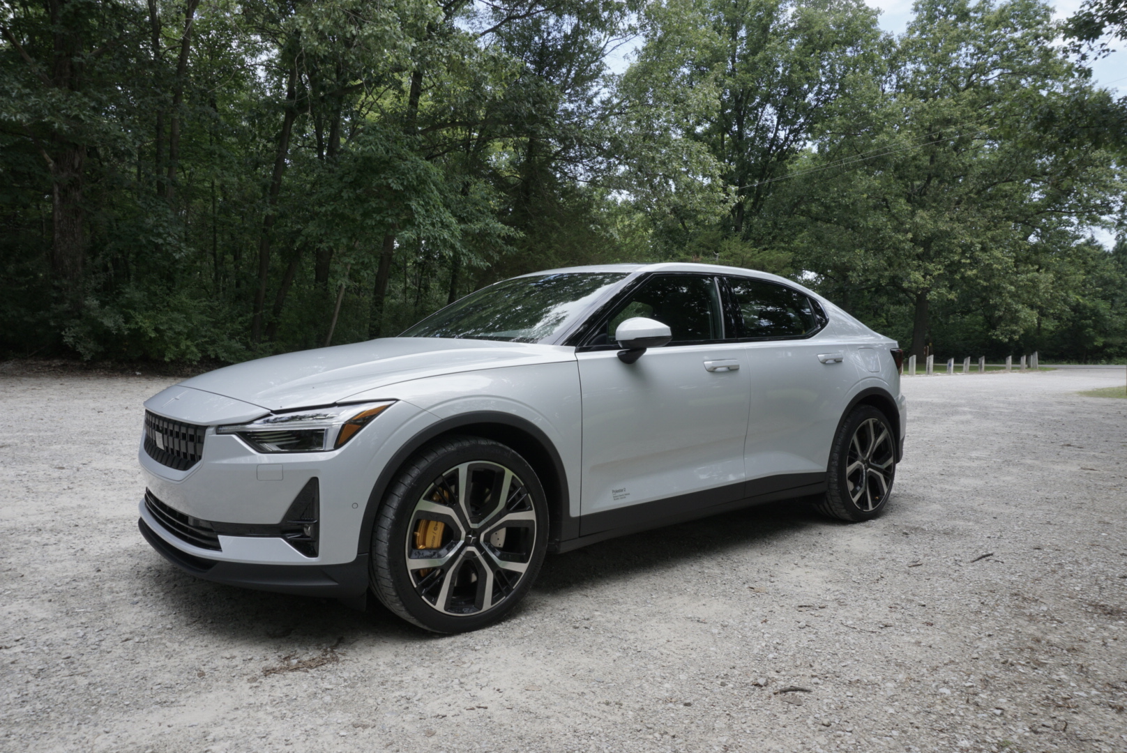 Polestar 2 front three-quarter