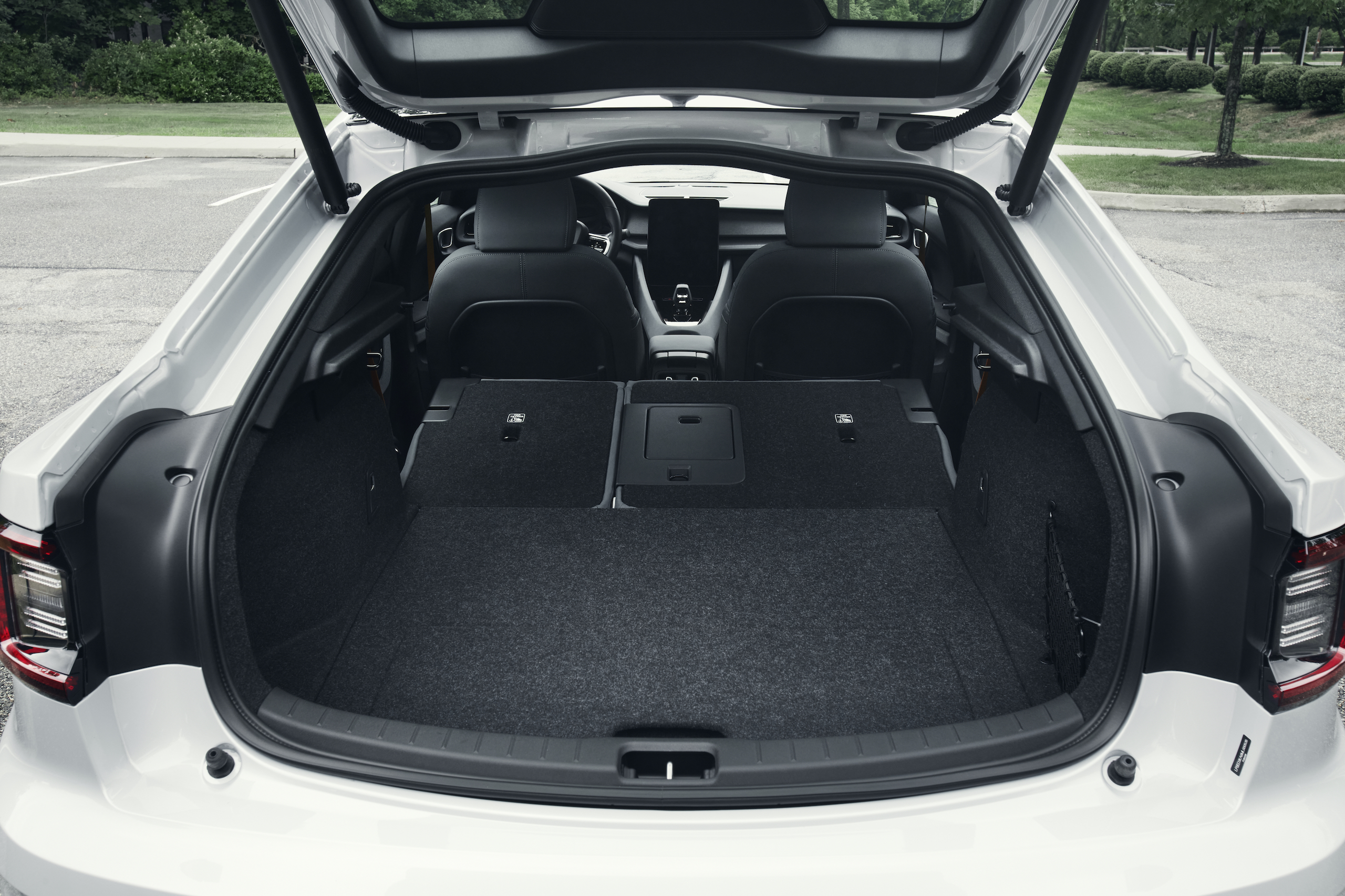 Polestar 2 rear trunk storage