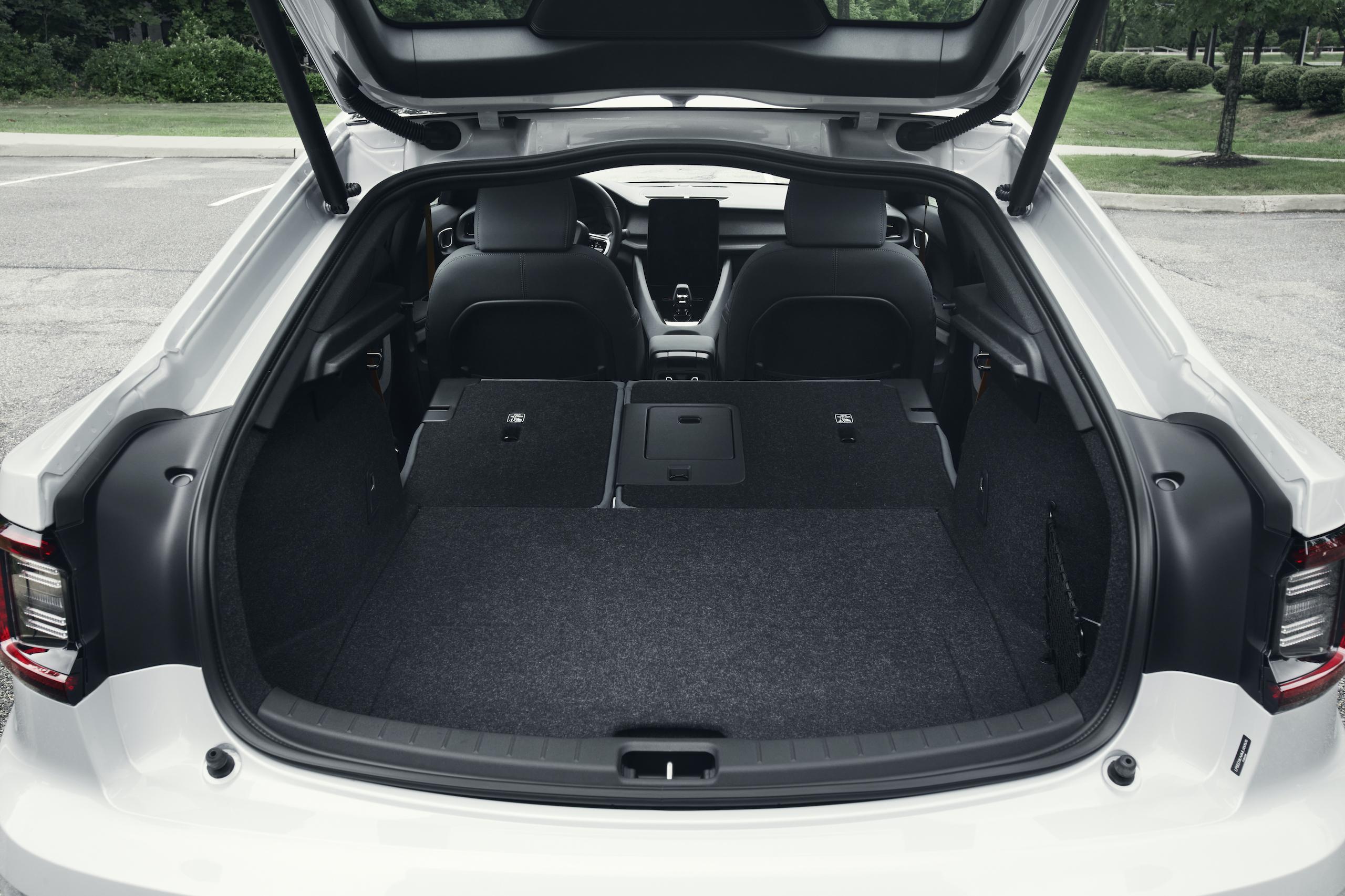 Polestar 2 rear trunk storage
